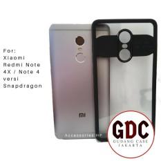 GDC Ultimate Shockproof Auto Focus Case for Xiaomi Redmi Note 4X / Note 4 Versi Snapdragon 5.5 inch