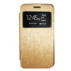 Toko Gea Flip Cover Lenovo A850 Gold Online Dki Jakarta