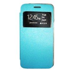 Gea Flip Cover Vivo Y15 - Biru Muda