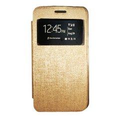 Gea Flip Cover Xiaomi Mi4 - Gold