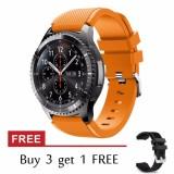 Jual Beli Online Gear S3 Frontier Klasik Gelang Jam 22Mm Soft Silicone Galaxy Gear S3 Watch Penggantian Gelang Tali Untuk Gear S3 Intl