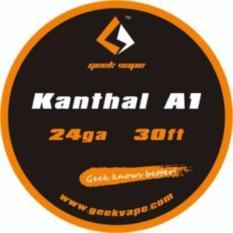 Ulasan Geekvape Kawat Kanthal A1 24Ga 30Ft Rokok Elektrik