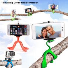 Gekkopod Flexible Mini Tripod HP Handphone Kamera Xiaomi Yi GoPro Stan