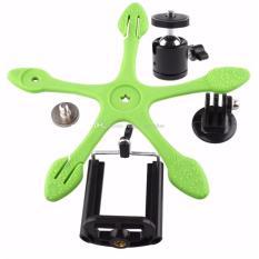 Promo Gekkopod V2 Mini Flexipod Universal Holder Untuk Camera Smartphone Ipad Tab Green Akhir Tahun