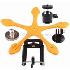 Spesifikasi Gekkopod V2 Mini Flexipod Universal Holder Untuk Camera Smartphone Ipad Tab Jingga Merk Oem