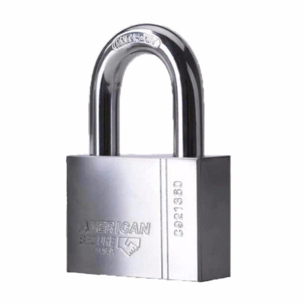Gembok Anti Maling 50mm ( Pendek ) American Secure
