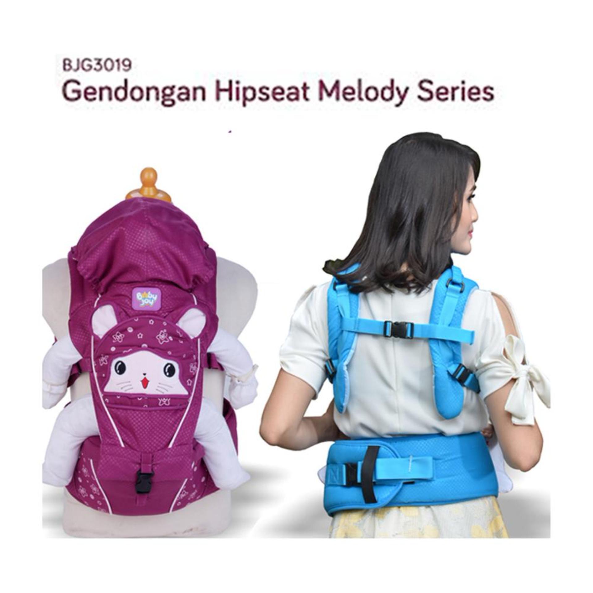 Spesifikasi Gendongan Bayi Depan Baby Joy Hipseat Melody Series Terbaik