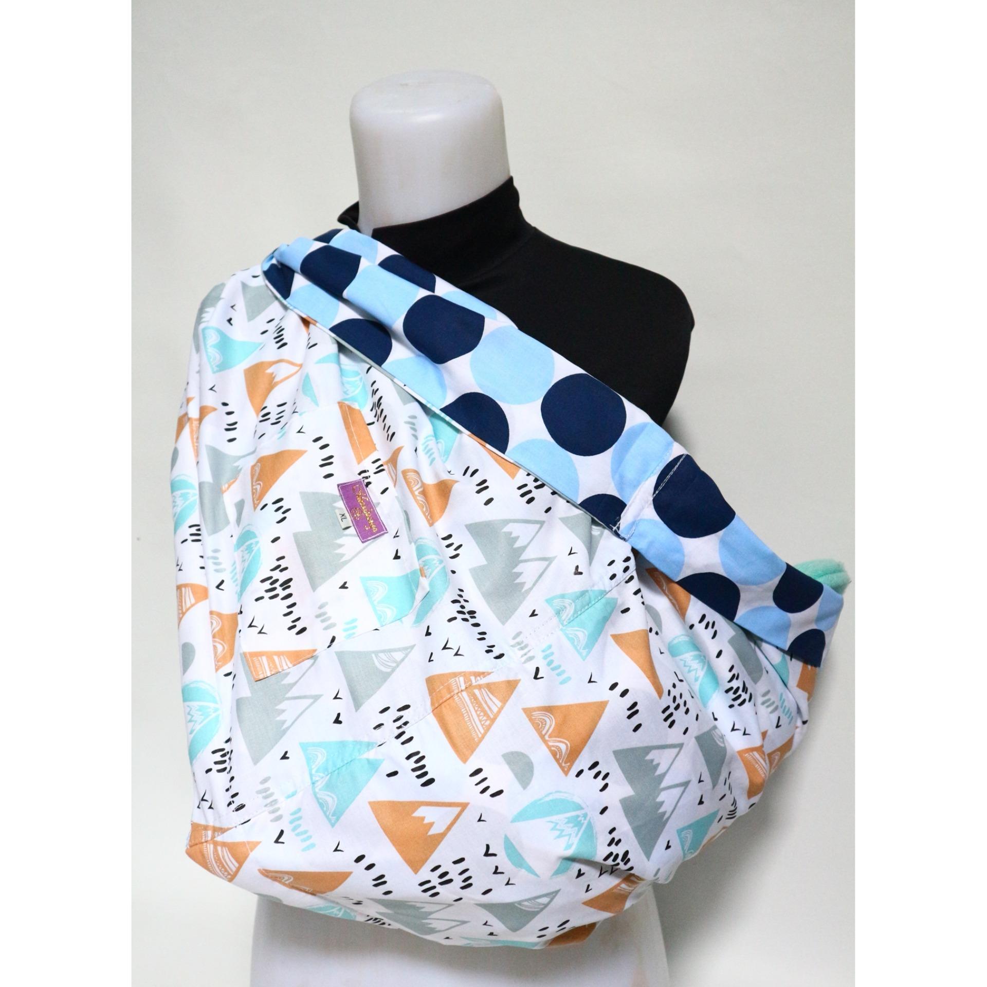 Beli Gendongan Bayi Sling Bolak Balik Katun Instan Premium Size M Dan Xl Baru