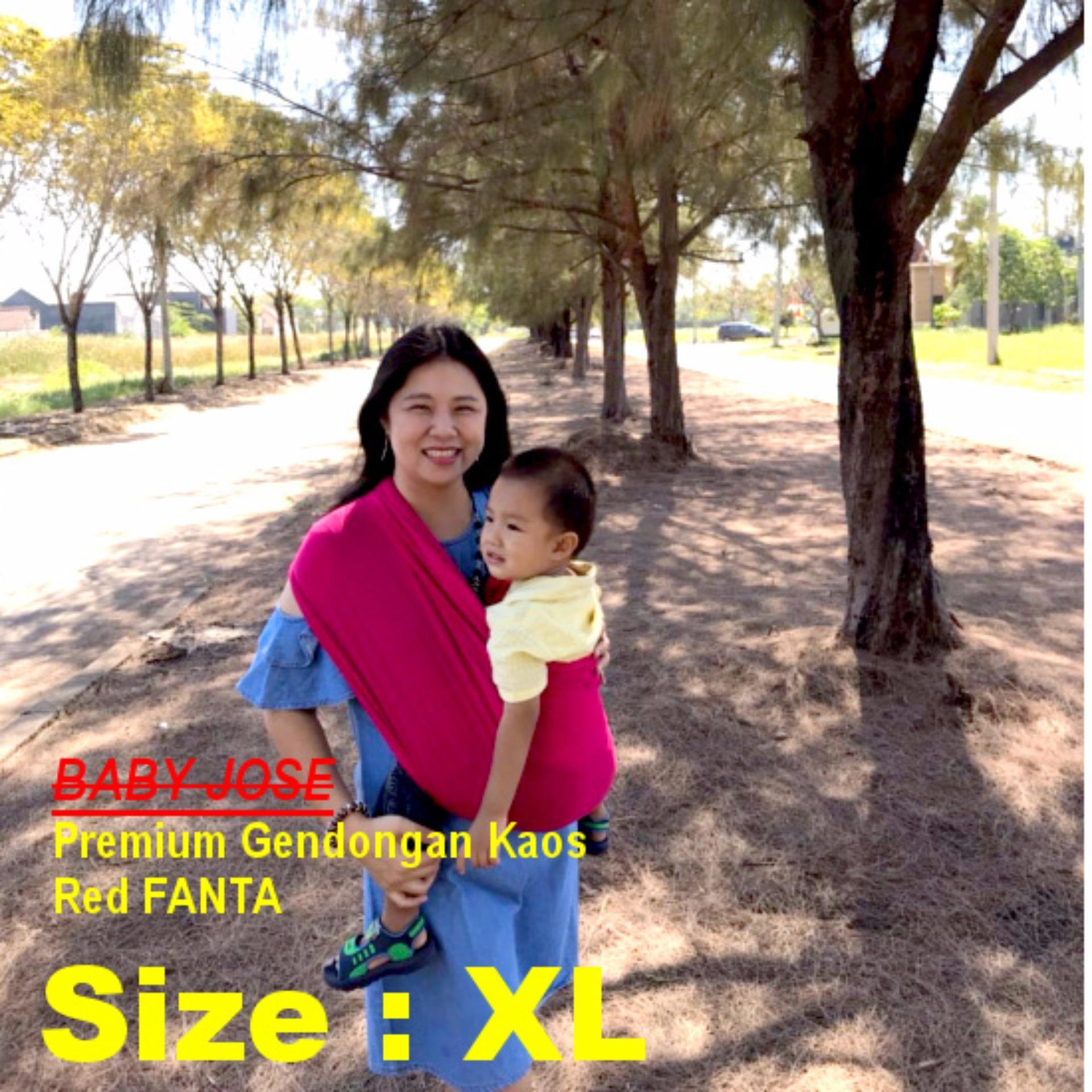 Ulasan Lengkap Gendongan Premium Baby Jose Size Xl Red Fanta Geos Gendongan Bayi Kaos Selendang Bayi Perlengkapan Bayi Padie