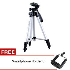 Beli Generic Tripod Camera Weifeng Kt3110A Silver Gratis Holder U Murah