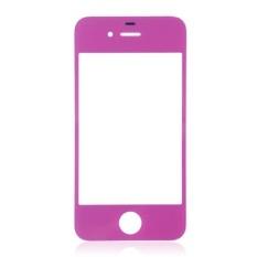 Generik Penggantian Kaca Depan untuk IPhone 4/4 S/4 CDMA GSM (Ungu)-Intl