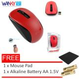 Spesifikasi Genius Mouse Wireless Nx7005 Gratis Mouse Pad Alkaline Battery Aa 1 5V Yg Baik