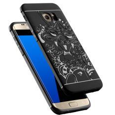 Gerai Cocose Drop Resistance Armor Carved Dragon Silikon Back Case For Samsung Galaxy S7 EDGE -