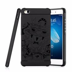 Harga Gerai Soft Silikon Tpu Shockproof Armor Dragon Case Cover For Xiaomi Redmi 4A Black Original