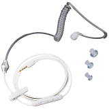 Harga Getek Tabung Udara Anti Radiasi Headset Bukti Alat Pendengar Putih Asli Getek