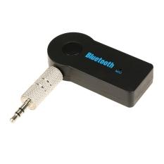 Beli Getek Mobil Rumah Stereo Audio Bluetooth Hands Free Musik Receiver Kabel Mic Adapter Hitam Kredit Tiongkok