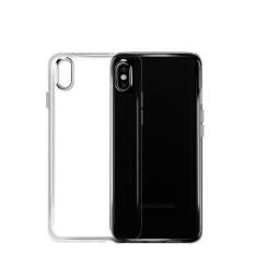Getek Mewah Kasing Belakang Kulit Kartu Kover Selot untuk iPhone 8-Intl