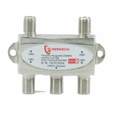 Getmecom DiSeqC Switch 4x1 (Untuk 4 LNB/Satelit To 1 Receiver)