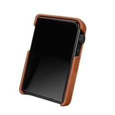 Hadiah Modis Shanling M2S Penyimpanan Case Bluetooth Musik Player Organizer Case Brown Intl Murah