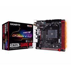 Gigabyte Motherboard GA-AB350N-Gaming WIFI - Socket AM4 DDR4 - Hitam