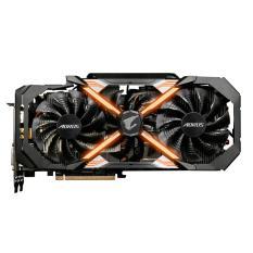Gigabyte VGA GV-N108TAORUS-11GD - Nvidia GTX 1080Ti Aourus 11GB - Hitam