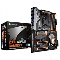 Gigabyte Z370 AORUS GAMING 7 (Intel LGA1151/Z370/ATX/3xM. 2/M.2 Thermal Guard/USB Depan 3.1/ESS Sabre DAC/RGB Fusion/Fan Stop/ SLI/Papan Utama) -Intl