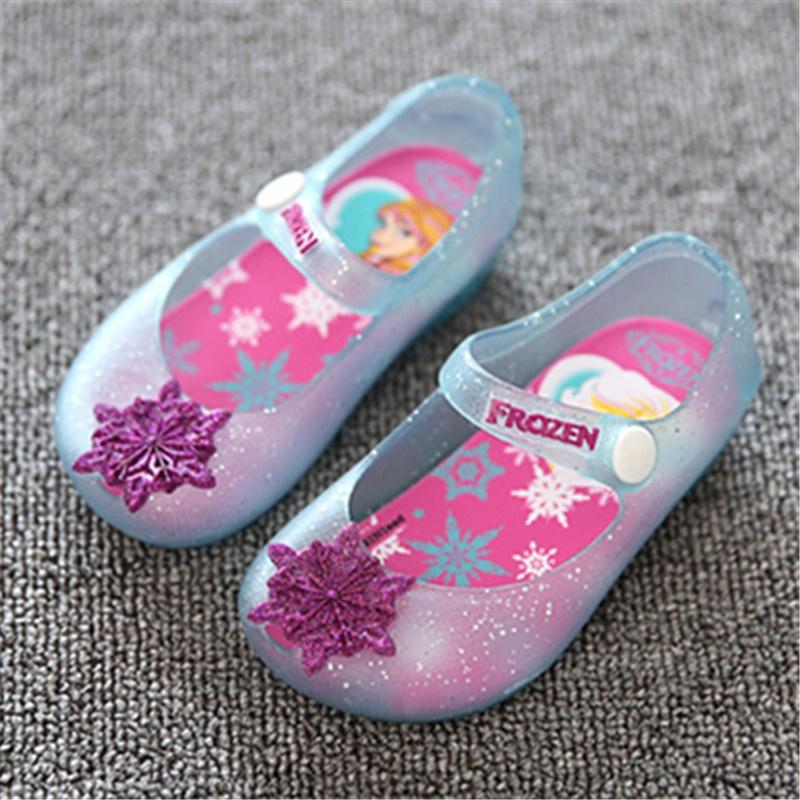 Anak Perempuan Sepatu Anak-Anak Bayi Sandal untuk Gadis Jelly Sepatu (Merah Muda)