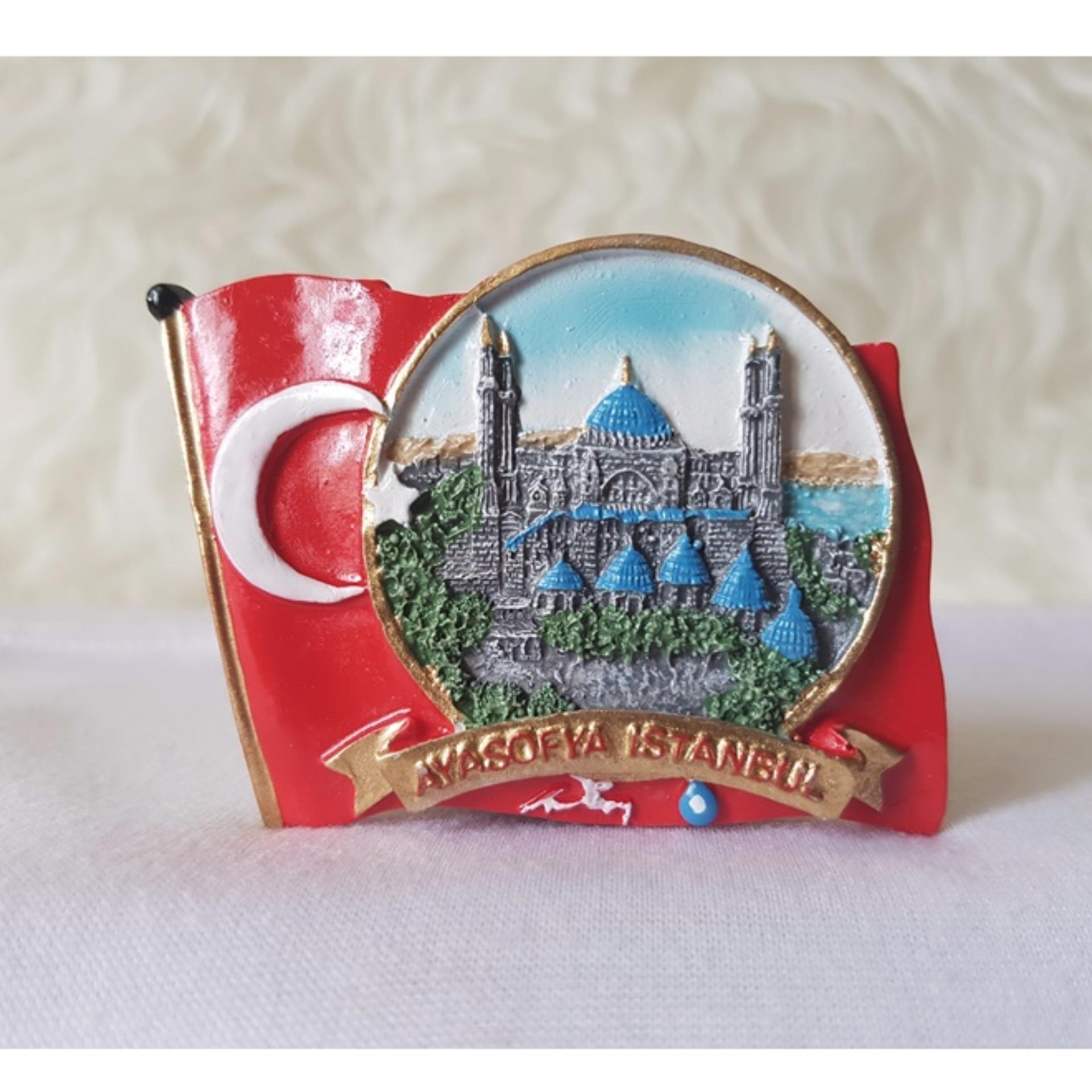 Gloria Bellucci - Magnet kulkas souvenir turkey turki
