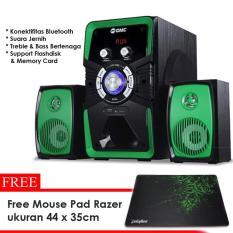 GMC 885U Speaker Bluetooth Super Bass Fm Radio Free Mouse Pad Gaming Razer Goliathus 44 x 35 cm
