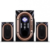 Gmc 886C Speaker Multimedia Bluetooth Port Usb Hitam Gmc Diskon 30