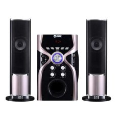 GMC 887G Bluetooth Multimedia Speaker Aktif (Garansi resmi GMC) - Silver Metalic