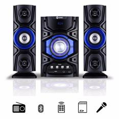 GMC 889D Audio Multimedia Speaker Bass Booster Bluetooth Karaoke - Biru