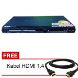 Spesifikasi Gmc Bm088A Dvd Player Hdmi 5 1 Hitam Gratis Kabel Hdmi Yang Bagus