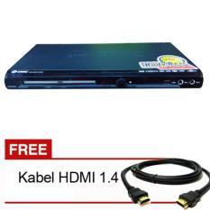 Spesifikasi Gmc Dvd Player Hdmi 5 1 Bm088B Free Kabel Hdmi Terbaru