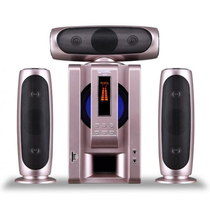 GMC Multimedia Aktif Speaker 885A Bluetooth - Rose Gold