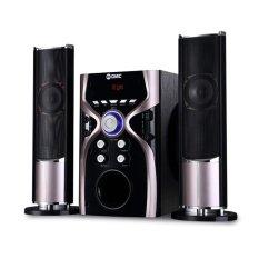 GMC Multimedia Aktif Speaker 887G BLUETOOTH - SILVER METALLIC