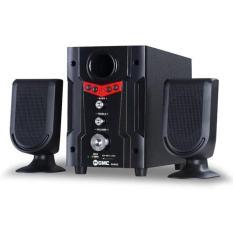 GMC Multimedia Aktif Speaker 888D2 - Merah / Red
