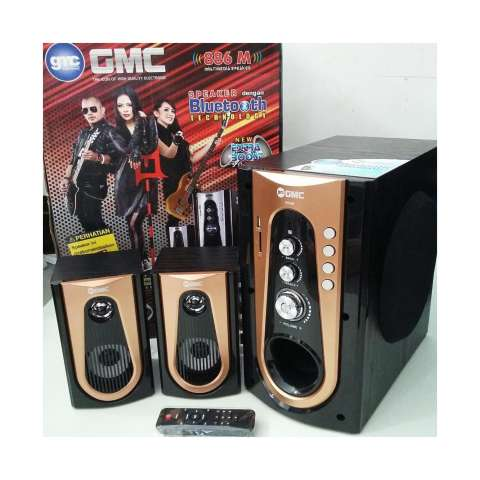 GMC Multimedia Speaker 886M / Speaker Aktif 2.1ch ( Bluetooth Connection ) 1