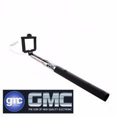 GMC Selfi Stick Tongsis Kabel TS-05 With Shutter Button - Hitam
