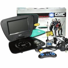 GMC TV DVD Portable Layar LED 7inch - HITAM
