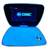 Jual Gmc Tv Led 9 Divx 808R Portable Dvd Player Biru Hitam