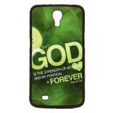 Spek Tuhan Yesus Kristus Cross Pola Ponsel Case Untuk Samsung Galaxy Mega 6 3 I9200 Hitam Oem
