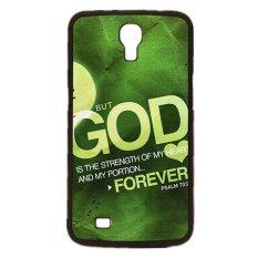 Harga Tuhan Yesus Kristus Cross Pola Ponsel Case Untuk Samsung Galaxy Mega 6 3 I9200 Hitam Oem Terbaik