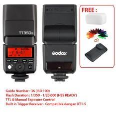 Godox Flash TT350s - TTL & HSS - for Sony A6000 - A7R - A58 - A6300