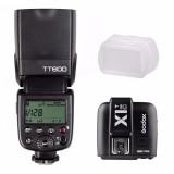 Jual Godox Tt600 2 4G Nirkabel Ttl Speedlite Flash Untuk Canon X1T C Transmitter Kit Tiongkok Murah