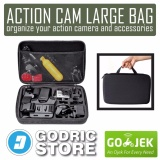 Top 10 Godric Action Cam Large Size Bag Tas Case For Xiaomi Yi Gopro Brica B Pro Online