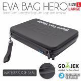 Tips Beli Godric Hero Eva Tas Waterproof Case Large Big Size Action Cam Bag Xiaomi Yi Gopro Brica B Pro Ae Ae2 Etc Yang Bagus