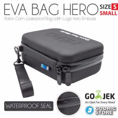 Godric Hero EVA Tas Waterproof Case Small Size Action Cam Bag Xiaomi Yi , GoPro , BRICA B-PRO AE AE2 etc
