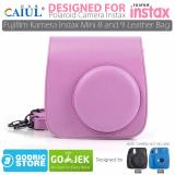 Jual Godric Leather Bag Tas Case For Fujifilm Kamera Instax Mini 8 Dan 9 Flamingo Pink Branded
