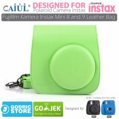 Harga Godric Leather Bag Tas Case For Fujifilm Kamera Instax Mini 8 Dan 9 Lime Green Termahal